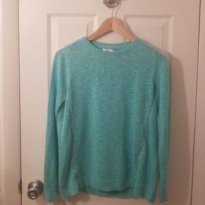 Vineyard Vines Linen Cotton Mixed Media Sweater